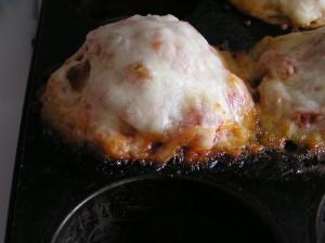 """Salsa-Pretzel """"Muffins"""""""
